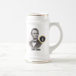 Abraham Lincoln Bicentennial Commemorative Beer Stein