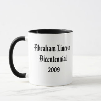 Abraham Lincoln Bicentennial Commemorative Mug