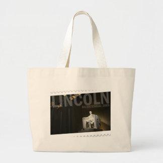Abraham Lincoln bicentennial Tote Bags