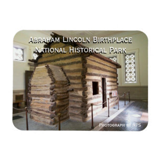 Abraham Lincoln Birthplace Magnet