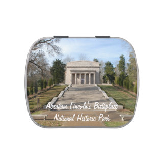Abraham LIncoln Birthplace Memorial Candy Tin