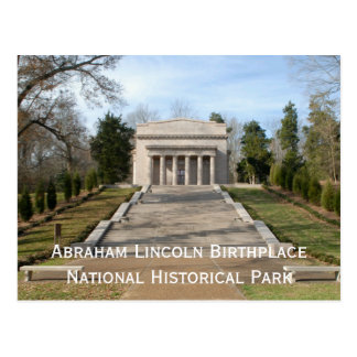 Abraham LIncoln Birthplace Memorial Postcard