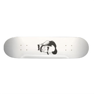 Abraham Lincoln (Black and white) Skate Decks
