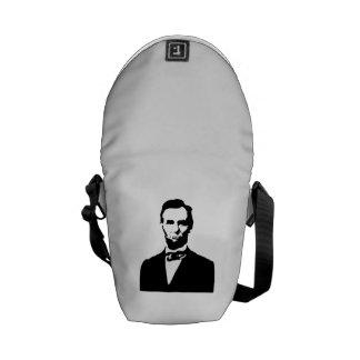 Abraham Lincoln Bolsas Messenger