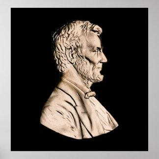 Abraham Lincoln Bust Print