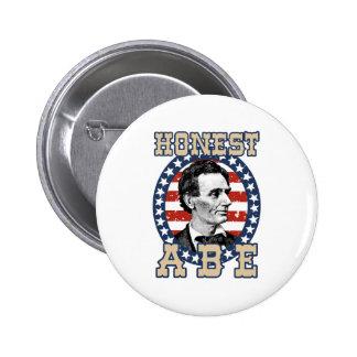 Abraham Lincoln 2 Inch Round Button