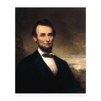 Abraham Lincoln by George H Story Flyer