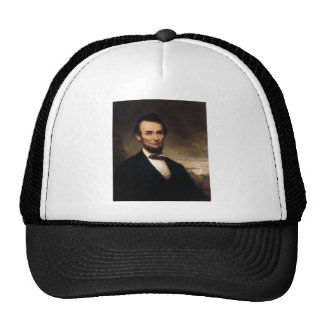 Abraham Lincoln by George H Story Trucker Hat