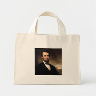 Abraham Lincoln by George H Story Mini Tote Bag