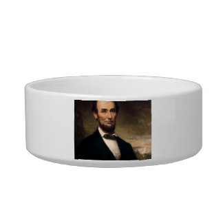 Abraham Lincoln by George H Story Pet Bowls