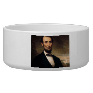Abraham Lincoln by George H Story Pet Bowl