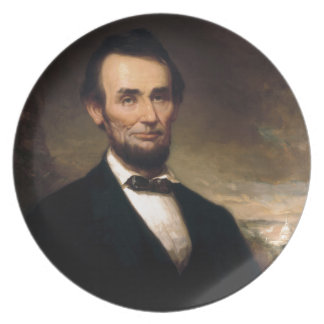Abraham Lincoln by George H Story Dinner Plates