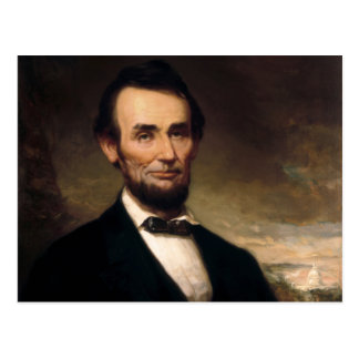 Abraham Lincoln by George H Story Postcard