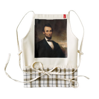 Abraham Lincoln by George H Story Zazzle HEART Apron