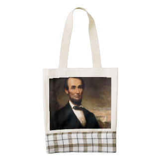 Abraham Lincoln by George H Story Zazzle HEART Tote Bag