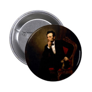 Abraham Lincoln by George Peter Alexander Healy Buttons