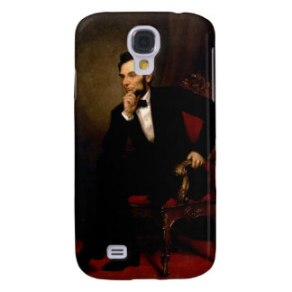Abraham Lincoln by George Peter Alexander Healy Galaxy S4 Cover