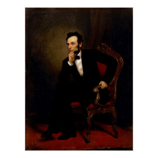 Abraham Lincoln by George Peter Alexander Healy Posters
