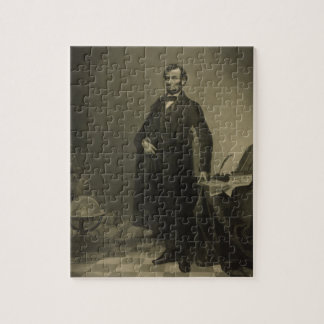 Abraham Lincoln by William Pate Puzzle