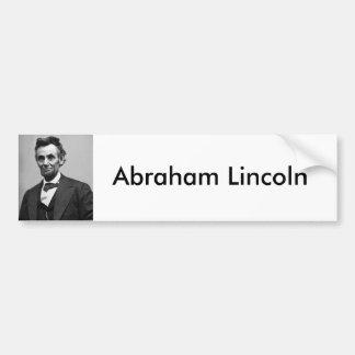 Abraham Lincoln Pegatina Para Auto