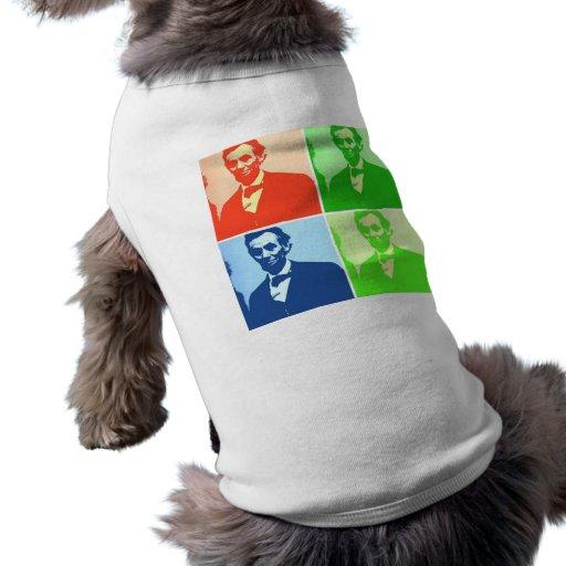 Abraham Lincoln Camisetas De Perro