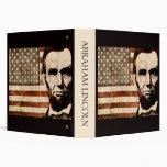 "Abraham Lincoln Carpeta 1 1/2"""