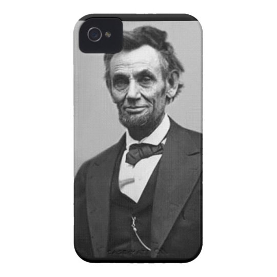 Abraham Lincoln Case-Mate iPhone 4 Case