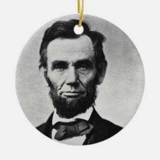 Abraham Lincoln Christmas Tree Ornament