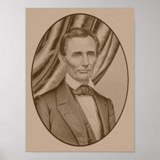 Abraham Lincoln circa 1860 Póster