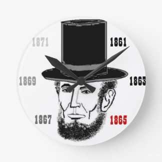 Abraham Lincoln clock