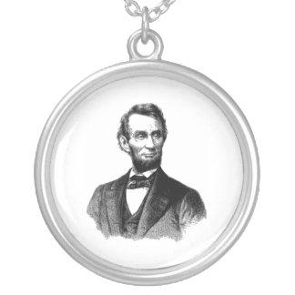 Abraham Lincoln Colgante Redondo