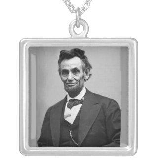 Abraham Lincoln Colgante Cuadrado