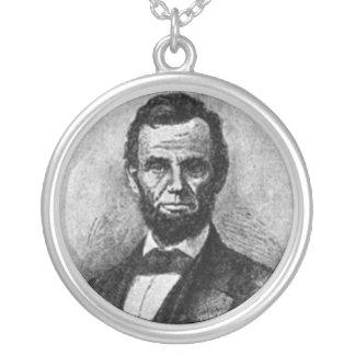 Abraham Lincoln Pendientes Personalizados