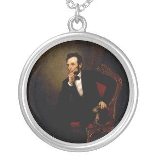 Abraham Lincoln de George Peter Alexander Healy Colgante Redondo