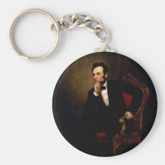 Abraham Lincoln de George Peter Alexander Healy Llavero Personalizado