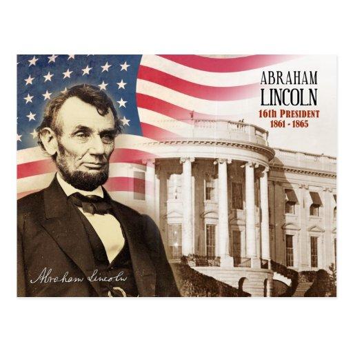 Abraham Lincoln - décimosexto presidente de los E. Postales