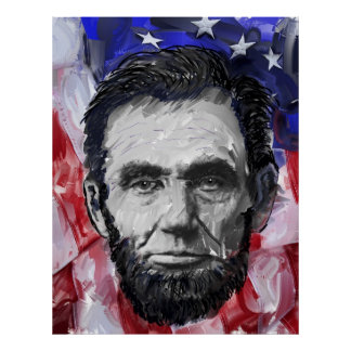 ABRAHAM LINCOLN - décimosexto PRESIDENTE de U S Impresiones