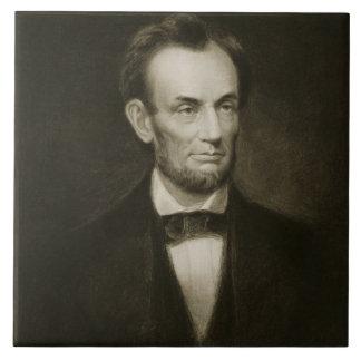 Abraham Lincoln, décimosexto presidente del Stat u Azulejo Cuadrado Grande