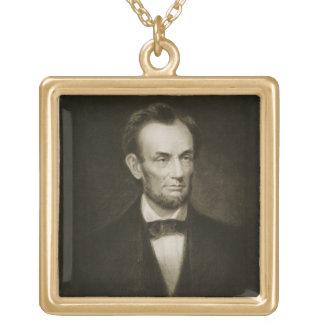 Abraham Lincoln, décimosexto presidente del Stat u Colgante Cuadrado