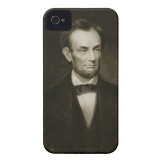 Abraham Lincoln, décimosexto presidente del Stat u Case-Mate iPhone 4 Cárcasa