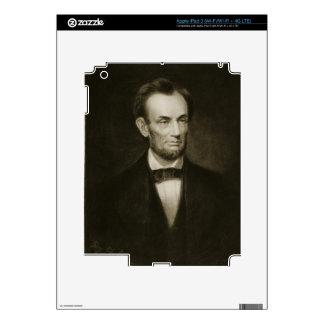 Abraham Lincoln, décimosexto presidente del Stat u iPad 3 Pegatinas Skins