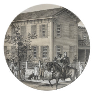 Abraham Lincoln Decorate Plate