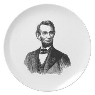Abraham Lincoln Dinner Plate