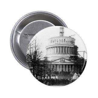 Abraham Lincoln, discurso inaugural, el 4 de marzo Pin Redondo 5 Cm