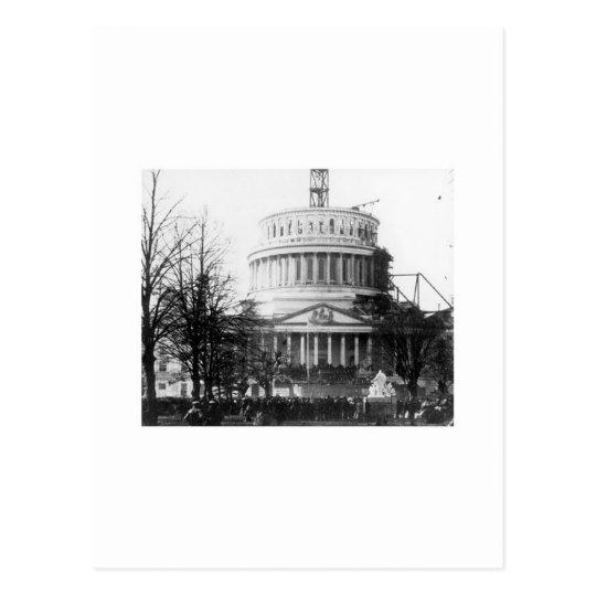 Abraham Lincoln, discurso inaugural, el 4 de marzo Postal