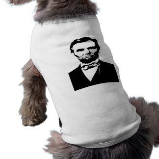 Abraham Lincoln Doggie Shirt