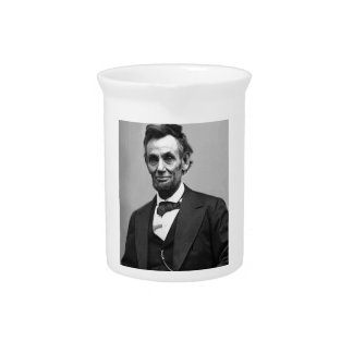 Abraham Lincoln Drink Pitcher