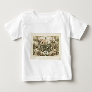 Abraham Lincoln Emancipation Proclamation Collage Baby T-Shirt