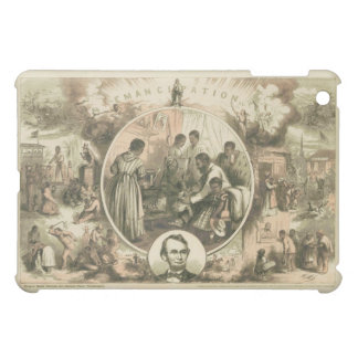 Abraham Lincoln Emancipation Proclamation Collage Cover For The iPad Mini