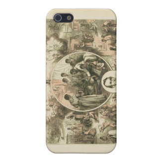 Abraham Lincoln Emancipation Proclamation Collage iPhone 5 Cases